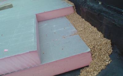 Dak isoleren boven de bestaande constructie detail reno fase